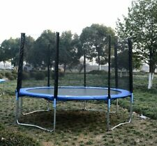 12ft Round Trampoline Enclosure Trampolining Bounce Safety Net