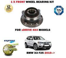 FOR BMW X3 XDRIVE 20i 28i 35 20D 30D 35D 2010-> NEW 1X FRONT WHEEL BEARING