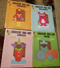 Teacher Student Grocery Bag Art Book Bundle