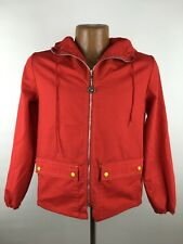 EUC Vintage Weather Tamer Hooded Jacket Youth L / Women S Lightweight Red