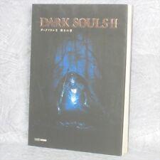DARK SOULS Soul II 2 Michibiki no Sho Guide PS3 Book EB03