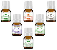Essential Oil Set Gift Kit  6 - 5 ml. 100% Pure Therapeutic Grade Sampler Lot