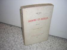 1929.Sodome et Berlin / Ivan Goll