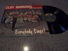 """Cliff Barrows """"Everybody Sings"""" LP Van Nuys, CA College"""