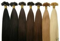50 100 150 EXTENSIONS POSE A CHAUD CHEVEUX 100% NATURELS REMY HAIR 49 CM 0.5G 1G