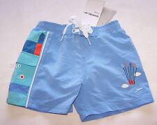 Speedo Boys Air Balloon Board Shorts With Aqua Swim Nappy Size 00 New