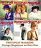 Photoplay 1910s Vintage Collection Film Movie Screen Magazines on Data Disc