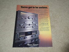 Phase Linear Ad, 1977, 700b Amp, 4000 Pre, 5000 Tuner, Article, 1 page