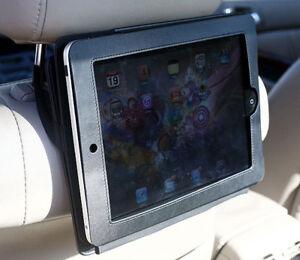 HR-iPad: iPad Case w/ built-in Stand & Headrest strap
