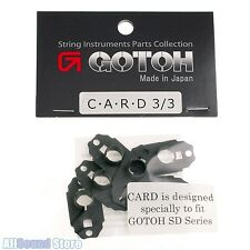 NEW Gotoh C-A-R-D 3/3 for SD90 Tuners CARD Carbon Fiber Headstock Protectors