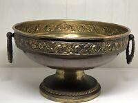 Antique Art Nouveau Beldray Copper & Brass Twin Handled Planter Jardiniere