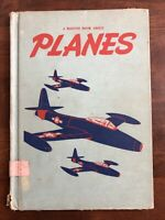 A Child`s Book of Planes Tom Sinnickson 1951 Vintage Hardcover Exlib Acceptable