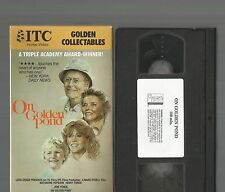 On Golden Pond VHS Henry Fonda Jane Fonda Katharine Hepburn ITC Home Video EX