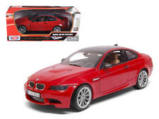 BMW M3 E92 Coupe Red 1:18 Diecast Model - 73182r