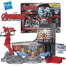 HASBRO MARVEL AVENGERS AGE OF ULTRON IRON MAN AVENGERS HQ SET LAB ATTACK TOY