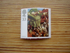 Mint 1993 33p stamp St Francis of Assisi&the Birds Stanley Spencer 1935 GB MNH