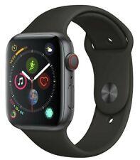 Apple Watch Series 4 44mm Espace Gris Noir Sport Bande GPS Cellulaire 12 Mois