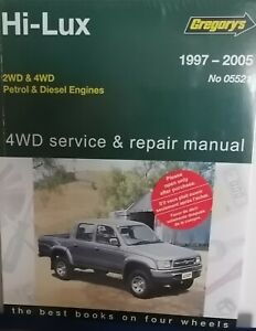 Toyota Hilux/4Runner 2WD & 4WD Petrol & Diesel From 1997-2005 with MPN GAP05521