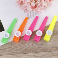 5Pcs Plastic kazoo harmonica mouth flute children party gift musical instrument!