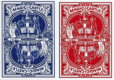 USPCC Magic Castle Playing Cards 2 Deck Set - Limited Edit. Not Bicycle - SEALED