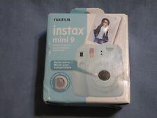 New Fuji Instax Mini 9 Fujifilm Instant Film Polaroid Camera Ice Blue