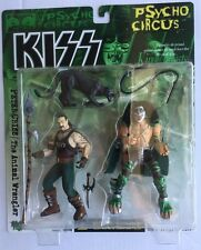 KISS PETER CRISS w/ ANIMAL WRANGLER Psycho Circus Series 2 McFarlane MINT 1998