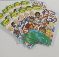 Crayola Colors of the World Coloring & Activity Book Landmarks Lot of 10 New