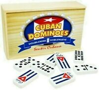 Cuban Domino Doble 9, wood case