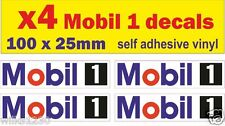 4 Mobil 1 Car Decal Motorcycle logo vw Nissan 350z van bus truck sticker dub jap