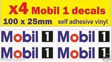 4 Mobil 1 Car Decal Motorcycle logo vw Nissan 350z van bus truck sticker dub jap