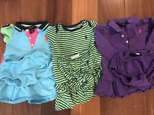 Polo Ralph Lauren Dress With Bloomers 9 Months & 24 Months Lot Of 3 Dresses