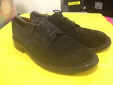 ALFRED SARGENT SUEDE PLAIN TOE DERBY SHOES w/DAINITE SOLE Made UK Sz 13.5 US