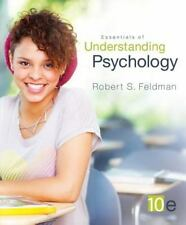 Essentials of Understanding Psychology, R Feldman, Paper,10th ISBN 9780078035258
