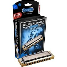 Hohner Blues Harp MS series in the key of D comes in a case & gift box