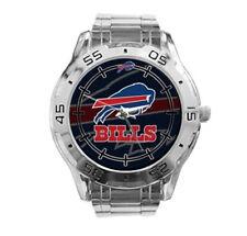 Buffalo Bills NFL Stainless Steel Analogue Men's Watch Gift