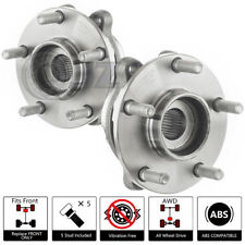FOR 2x 2007-2008 Infiniti G35 Front Wheel Hub Bearing [4Wheel Drive] ABS