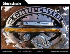 Gürtelschnalle Zimmermann Schreiner Tischler Buckle  Werkzeug-Buckle115
