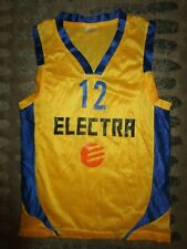 Maccabi Elektra Tel Aviv Israel Basketball Jersey Youth Children Small 6
