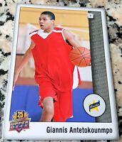 Giannis Antetokounmpo 2014 Upper Deck Star Rookie Card RC Milwaukee Bucks HOT