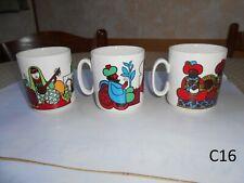 3 rares Mugs Villeroy et Boch Luxembourg Décor 1001Nuits