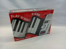 Sharper Image Play 'N' Roll Digital Piano Gu001 Factory Sealed Collectible 2005
