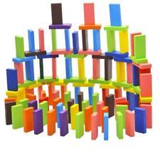 120pcs / Set patrón auténtico de madera Domino juego divertido juguetes