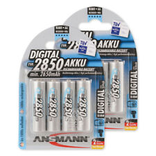 8x ANSMANN Digital NiMH Akku Mignon AA Typ 2850 (min. 2650mAh) HR6 5035092
