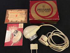 Rasoio Elettrico PHILIPS PHILISHAVE 7743 vintage completo di scatola+istruzioni.