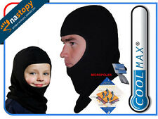 HEAT Thermoactive BALACLAVA COOLMAX Mens Womens Kids BREATHABLE for cold weather