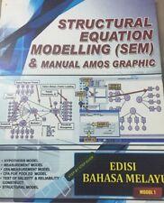 Structural Equation Modelling (SEM) & Manual AMOS Graphic Edisi Bahasa Melayu
