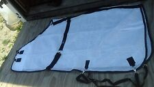 "66"" White mesh horse fly scrim sheet Hamilton"