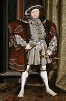Portrait of Henry VIII. History Reproduction Print on Canvas or Paper