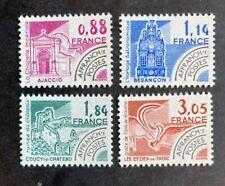 Timbre FRANCE Stamp - Yvert et Tellier Préoblitérés n°170 à 173 n** Mnh (Cyn38)