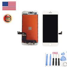 White LCD Display Touch Screen Digitizer Framed Assembly For iPhone 7 Plus 5.5''